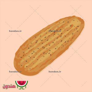 دانلود وکتور نان بربری