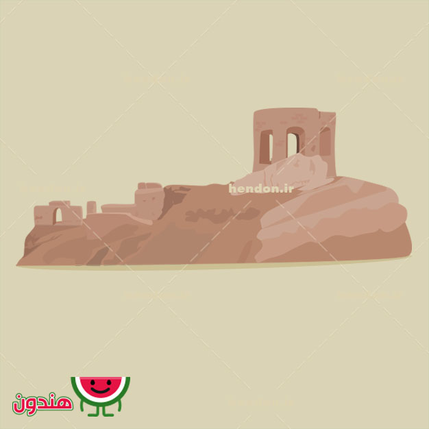 دانلود وکتور آتشگاه اصفهان