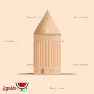 وکتور برج رادکان