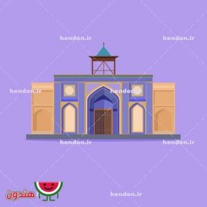 وکتور مسجد رکن الملک