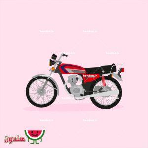 وکتور موتورسیکلت 125